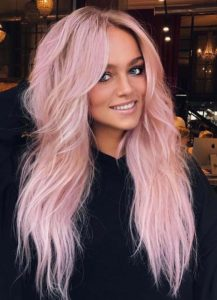 Amazing Pink Hair Colors for Long Hair for 2021