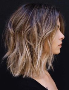 Balayage Highlights with Rough Around the Edges for 2018