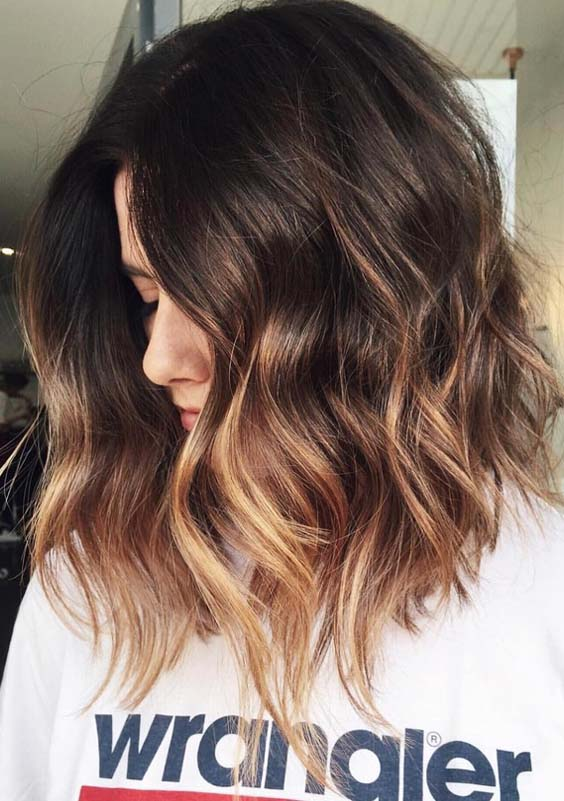 22 Best Balayage Ombre Hair Color Styles for 2018