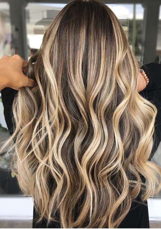 18 Best Balayage Ombre Hair Colors & Highlights for 2018