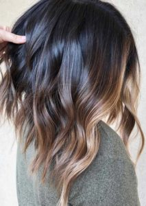 Balayage Ombre Highlights for 2018