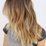 Blond Ombre Medium Length Hairstyles in 2018