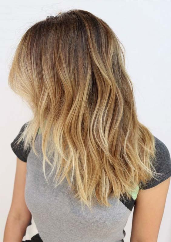 33 Gorgeous Blonde Ombre Medium Length Hairstyles 2018