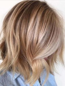 Blonde Balayage Hair Color Trends for 2021