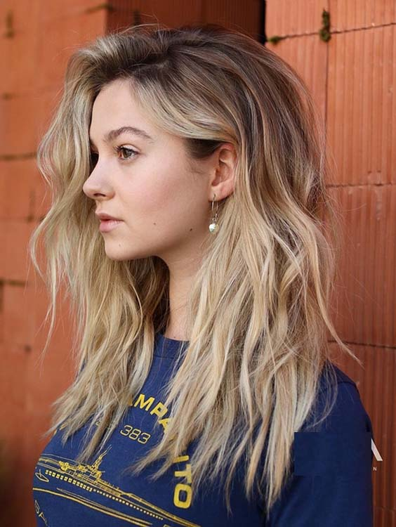 26 Best Blonde Balayage Highlights For Long Hair In 2018