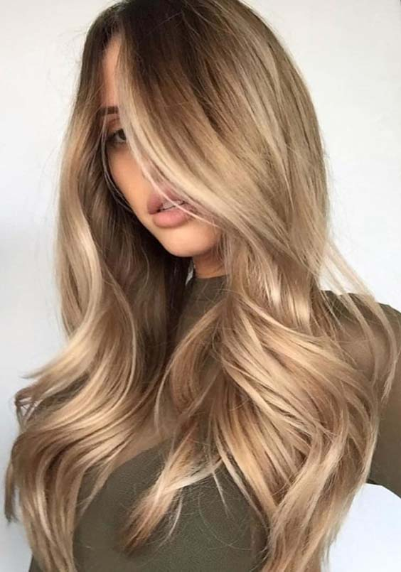 26 Alluring Bronde Balayage Hair Color Ideas for 2021