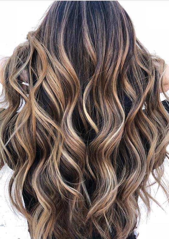 32 Awesome Brunette Balayage Highlights To Sport in 2018
