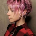 Curly Pixie Pink Haircuts for 2018