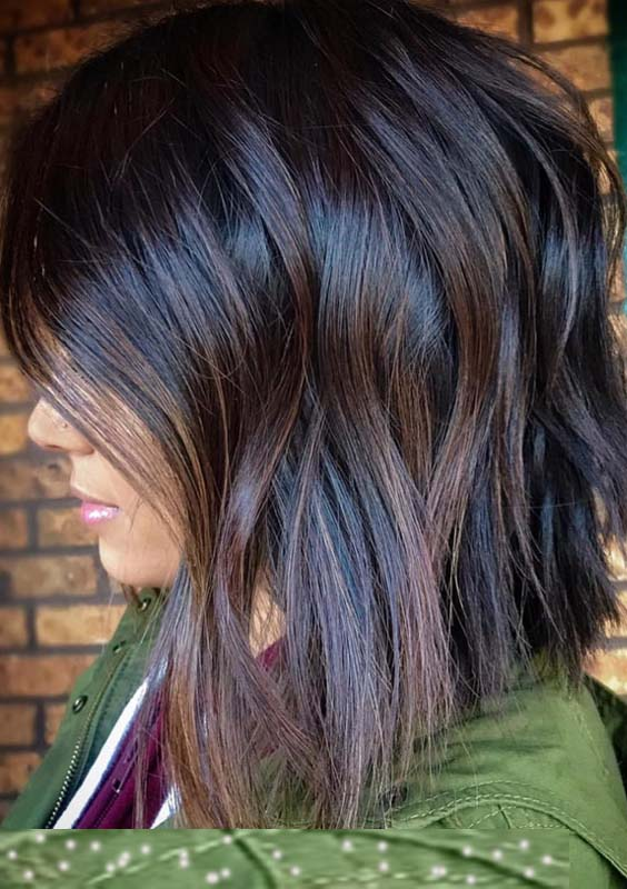 28 Charming Dark Brown Chocolate Hair Color Ideas for 2018 ...