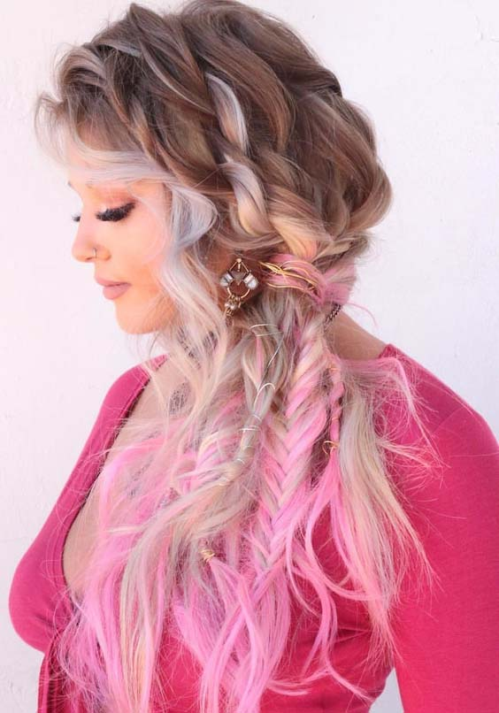33 Gorgeous Double Rope Braids into Twisted Dreads for 2021