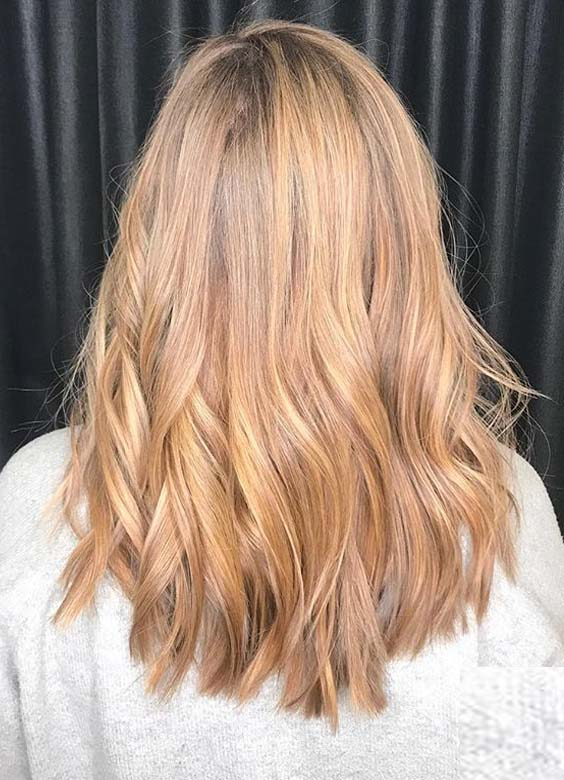 22 Fantastic Golden Locks Hairstyles 2018 for Women