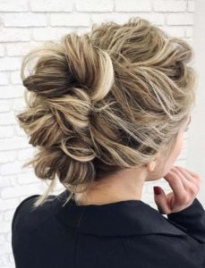 Gorgeous Textured Updos for Wedding Day