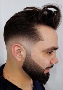 Natural Short Black Haircuts for Men 2018