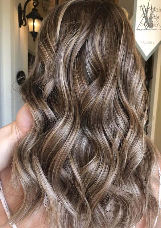 44 Perfect Blends of Balayage Highlights for 2018