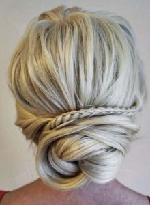Pretty Bridal Updo Hairstyles for 2021
