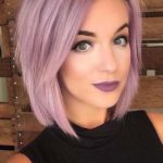 Pretty Pink Short Bob Haircuts in 2018