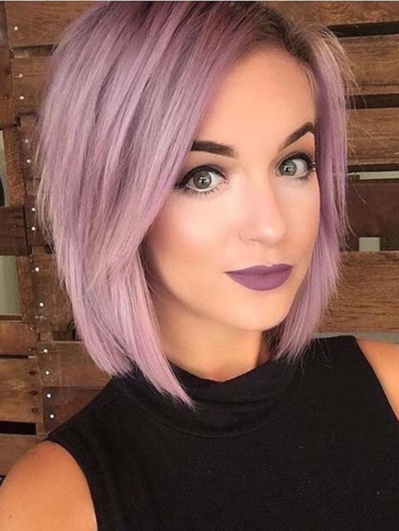 46 Pretty Pink Short Bob Haircuts To Sport in 2021