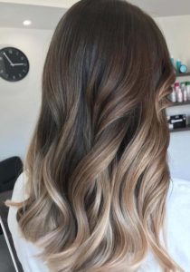 Pretty Sombre Hair Color Trends for 2018