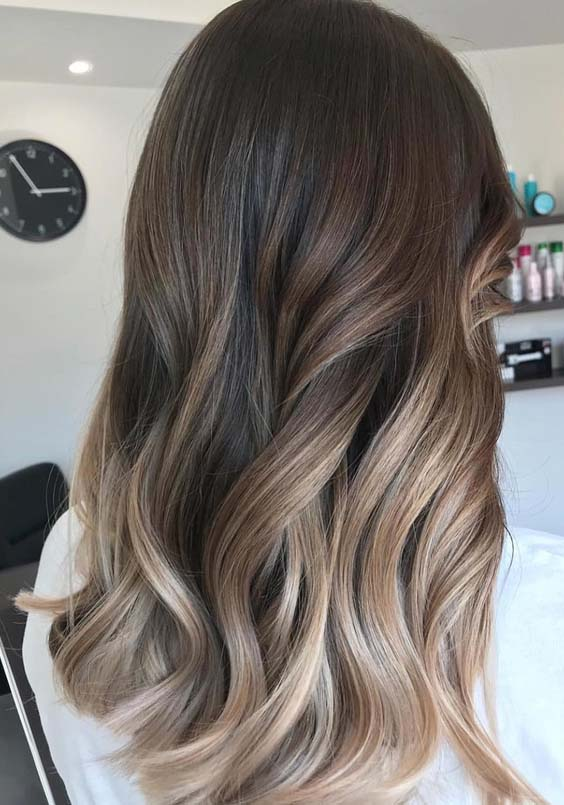 54 Latest Sombre Hair Color Trends To Wear in 2018