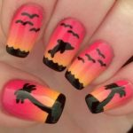 Sunset Nail Art Designs in 2018
