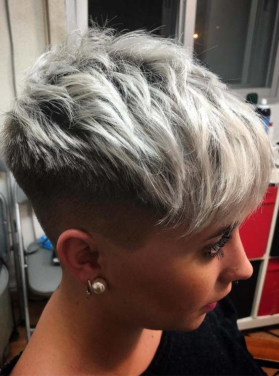36 Best Short Pixie Blonde Haircut Styles for 2018