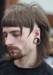 Side Shaved Long Hairstyles for Men 2018