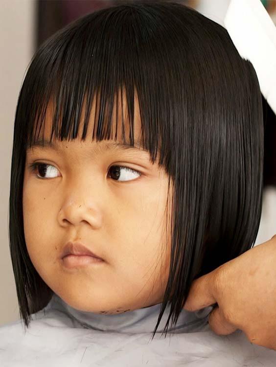 Perfectly Sleek Bob Haircuts For Women With Bangs