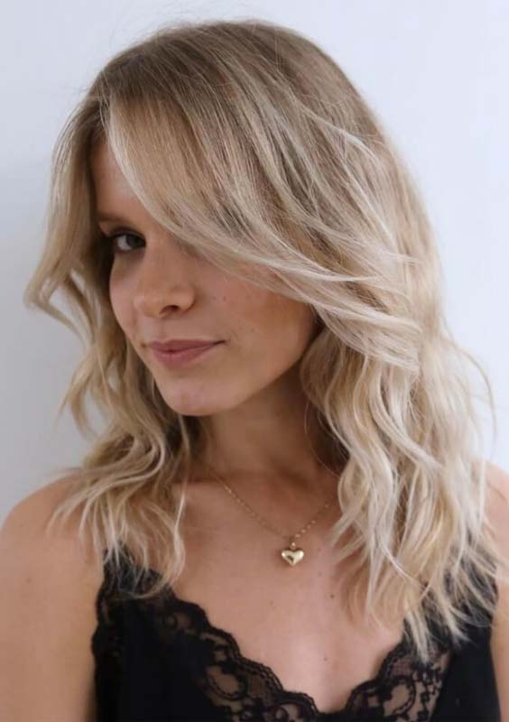 28 Stunning Long Blonde Layered Hairstyles in 2018
