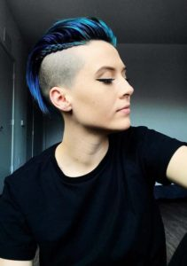 Undercut Pixie Haircuts with Braids for 2021