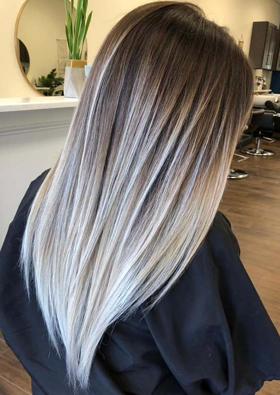 62 Amazing Contrasts of Balayage Hair Colors for 2018
