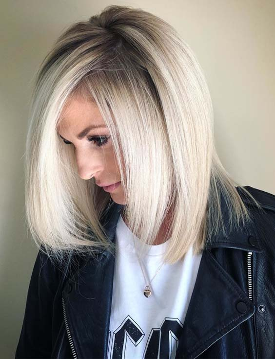 36 Unique Balayage Blonde Medium Length Haircuts for 2021