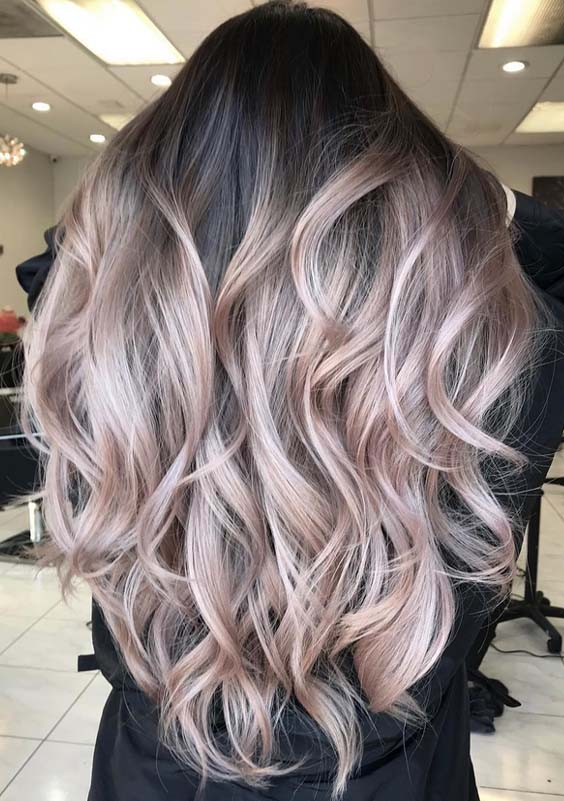 60 Flattering Balayage Caramel Hair Color Styles for 2018