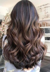 Balayage Ombre Natural Long Curls for 2021