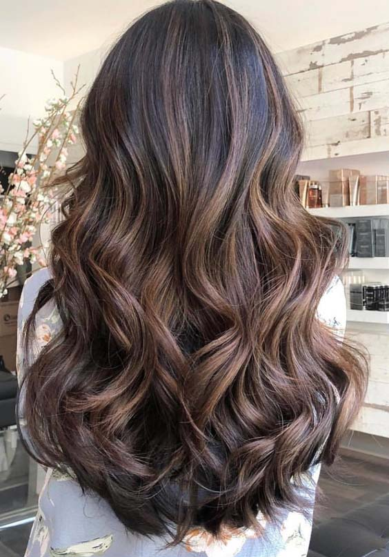 42 Awesome Balayage Ombre Natural Long Curls For 2018
