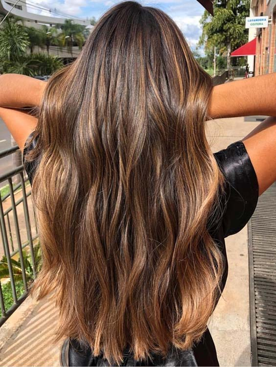 20 Beautiful Balayage Sun-kissed Highlights for 2021