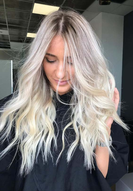 58 Beautiful Bright Blonde Hair Color Ideas for 2018