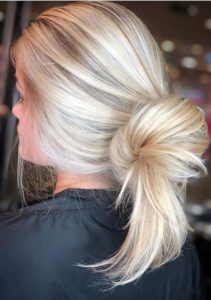 Blonde Bun Hairstyles for 2018