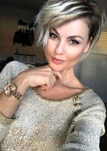 Blonde Haircuts for Short Hair 2018
