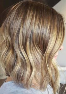 Brown Blonde Balayage Highlights for 2018