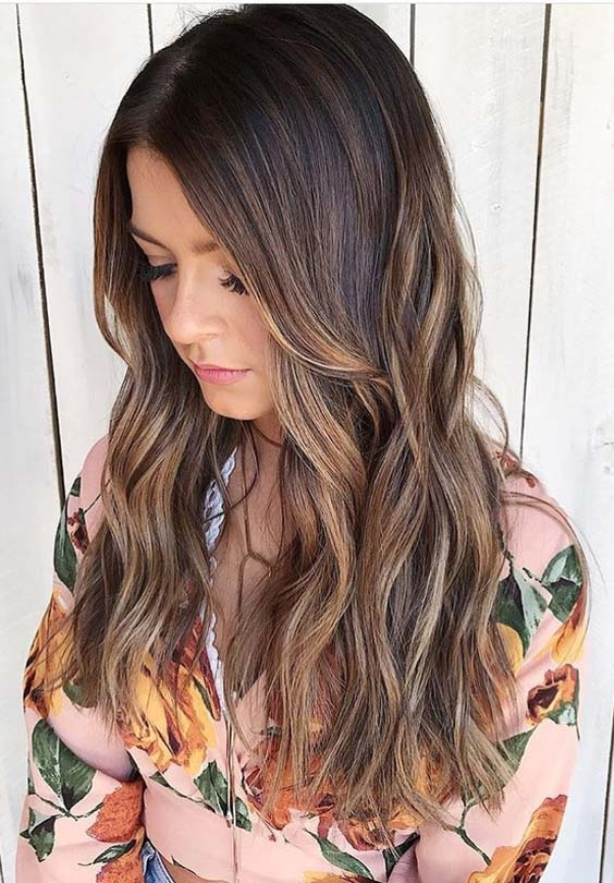 33 Famous Chocolate Brown Hair Color Ideas for 2018