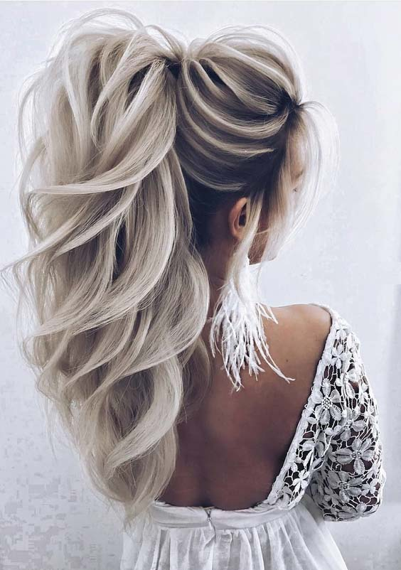 33 Creative Ideas of Wedding Hairstyles for Women in 2021