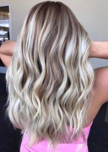 Dimensional Rooty Blonde Hair Color Ideas for 2021