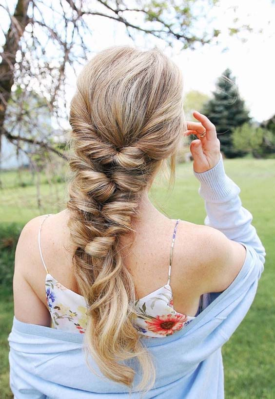 45 Easiest Topsy Tail Braid Styles to Try in 2021