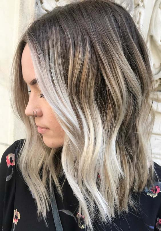 36 Best Foilyage Blonde Balayage Hair Color Ideas For 2018