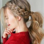Four Strand Braid Ponytails in 2018