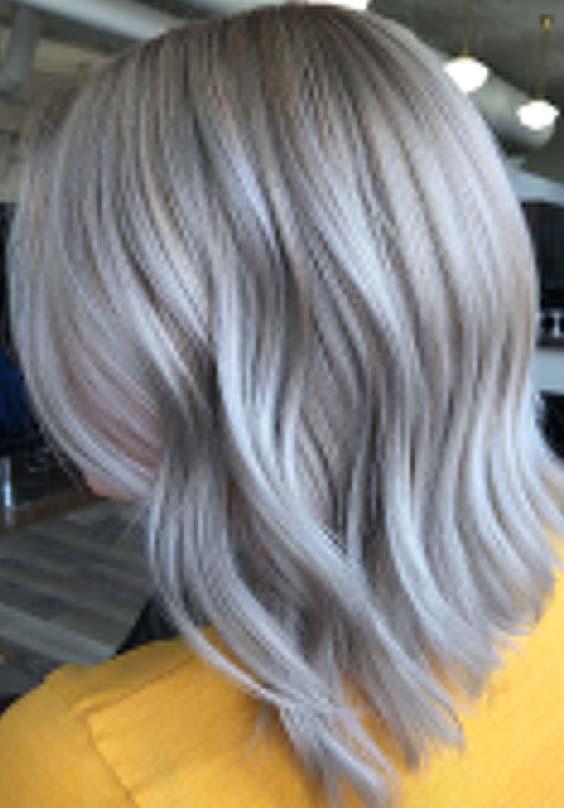 20 Gorgeous Silver Hair Color Ideas for Women 2018