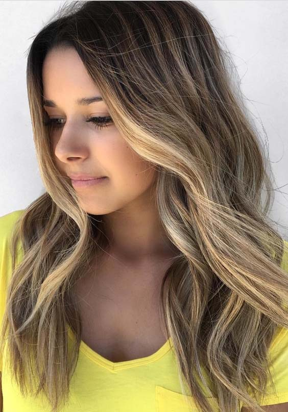 33 Gorgeous Balayage & Blonde Hair Color Blends for 2018