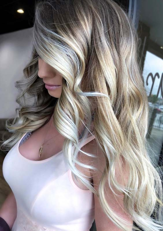 46 Gorgeous Bright Blonde Hair Color Trends for 2018