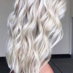 Ice Blonde Hair Color Ideas in 2021