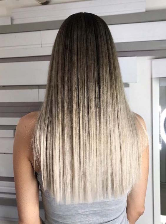49 Gorgeous Long Straight Blonde Hairstyles to Flaunt in 2018